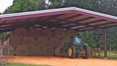Alabama offering low-interest loans for hay barn construction Pallet Shed Plans, Shed Plans 12x16, Diy Shed Plans, Storage Shed Plans, 12x24 Shed, Small Shed Plans, Farm Shed, Horse Barn Plans, Hay Barn