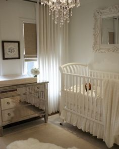 i know this is impossible, but i love the white and brown for a gender-neutral nursery!