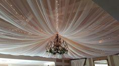 Full ceiling drape wows