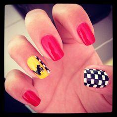 Nails Ferrari