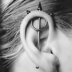 Oh my gosh,I totally want this for my next piercings....the healing process would be painful though!!