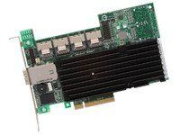 LSI Logic MegaRAID 9280-16i4e SAS RAID Controller - Serial Attached SCSI, Serial ATA/600 - PCI Express 2.0 x8 - Plug-in Card - 0, 1, 5, 6, 10, 50, 60, JBOD - 512MB by LSI Logic. $870.43. The 6Gb/s MegaRAID SAS 9280-16i4e, with sixteen internal and four external ports, supports both internal drive storage and external JBOD expansion for up to 240 SATA or SAS drives. With a large number of internal ports, the 9280-16i4e connects up to 16 drives inside the server via direct connec...