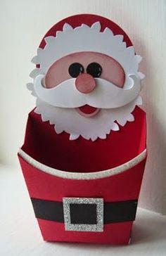 Haz divertidas cajitas navideñas para regalar a tus amigos ~ lodijoella