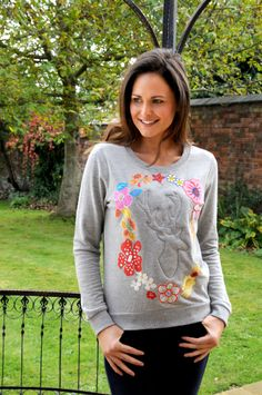 Check out this fabulous customised woodland sweatshirt, just one of the exciting new project ideas in the January issue of Sewing World magazine!