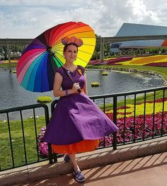 Since I had to work last November for the Fall 2016 Dapper Day at Epcot, I didn't want to miss Spring 2017 Dapper Day at Epcot – especially since it was the perfect opportunity to do a … Disney Bound Outfits, Disney Inspired Outfits, Disney Style, Disney Theme, Disney Halloween, Halloween Cosplay, Halloween Costumes, Halloween Ideas, Dapper Day Outfits