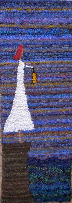 Laura Kenney Rugs Wool Rug, Wool Felt, Rug Hooking Designs, Rug Inspiration, Hand Hooked Rugs, Penny Rugs, Crochet Diagram, Wool Applique, Modern Rugs
