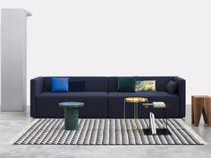 Rectangular rug with geometric shapes IZA - e15