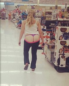 Full Moon at Walmart. Rock Bottom Prices So Low They'll Knock Your Pants Off. - Funny Pictures at Walmart