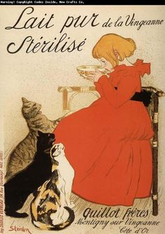 「ヴァンジャンヌの殺菌牛乳」1894年