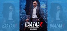 The first look of Saif Ali Khan's Bazaar was revealed on Twitter by the film's producer Nikkhil Advani. In the poster, a serious-looking Saif is dressed in a formal business suit.   #Bollywood #bollywood fun #bollywood goships #bollywood times #boolywood new poster #Gauravv K Chawla #kabarsamay #masti masala #Nikkhil Advani #Saif Ali Khan #The Wolf of Wall Street