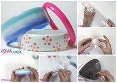 Come fare bracciali riciclando le bottiglie di plastica.