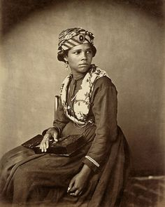 Woman from Martinique. 1870s.
