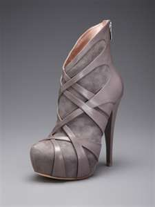 ankle boots, booties, designer, fashion, gray, leather - inspiring ...favim.com
