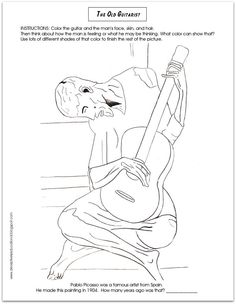 Relentlessly Fun, Deceptively Educational: Making a Picasso-inspired Guitar