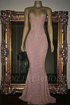 Custom Made Luscious Evening Dress Long Pink Sequin Mermaid Long Prom Dress, Sequin Evening Dress Evening Dress Long, Mermaid Evening Gown, Sequin Evening Dresses, Mermaid Prom Dresses, Ball Dresses, Pink Mermaid Dress, Prom Gowns, Pink Sparkly Dress, Wedding Dresses