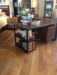 Metal and wood furniture I like