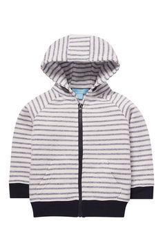 Gray Stripe Marl Hoodie