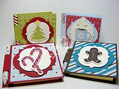 Scentsational Season, Festival of Prints paper stack, & Holiday framelits. Thanks Yvette!