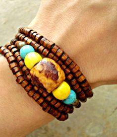 Yoga bracelet  Yoga Jewellery  Boho Jewellery  by HandcraftedYoga, $25.00
