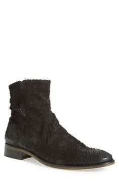 John Varvatos Collection 'Richards - Sharpei' Zip Boot (Men)