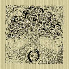 Celtic+Tree+of+Life | Celtic Tree of Life Inked