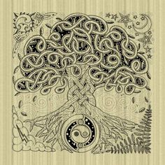 Celtic+Tree+of+Life   Celtic Tree of Life Inked