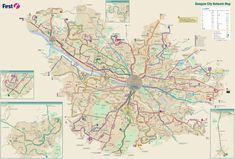 Leeds transport map Maps Pinterest Leeds and City