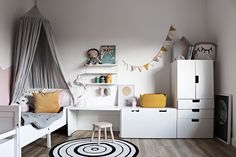 203 Me gusta 7 Kommentare Katerina Paskova bykoczanska en I Baby Bedroom, Baby Boy Rooms, Girls Bedroom, Big Girl Rooms, Bedroom Ideas, Ikea Kids Room, Boys Room Decor, Toddler Rooms, Kids Room Design
