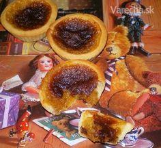 Maslové koláčiky (fotorecept) - recept | Varecha.sk French Toast, Muffin, Breakfast, Food, Basket, Morning Coffee, Essen, Muffins, Meals