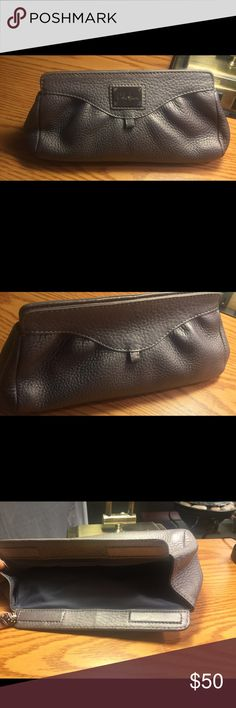 Cole Haan Gunmetal Cosmetic Case So cute Cole Haan Bags Cosmetic Bags & Cases