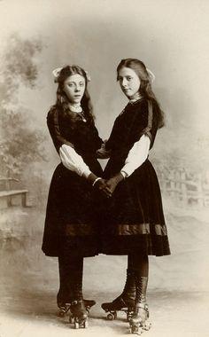 skater girls--@Brandie Rotering Batchelder, are these Renna's relatives?  ;)