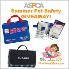 Summer pet safety giveaway!
