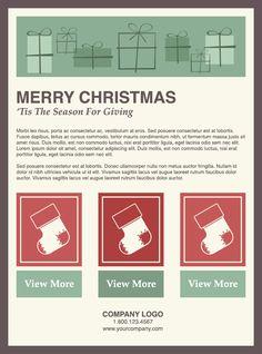 Templates divertidos de Email Marketing de Natal - Benchmark Email