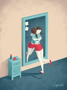 Andrea De Santis é um ilustrador freelancer italianoincrível. Seus trabalhos já apareceram em revistas do mundo todo, especialmente Nova York. As ilustrações de Andrea são delicadas, inusitadas, c…