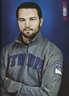 Rick Nash - 2013-2014 NY Rangers yearbook