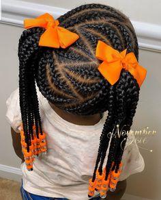 5 Simple & Easy Braid Style Tutorials for Little Girls Black Girl Hairstyles For. - 5 Simple & Easy Braid Style Tutorials for Little Girls Black Girl Hairstyles For Kids braid Easy Gi - Little Girl Braid Styles, Easy Braid Styles, Little Girl Braids, Black Girl Braids, Braids For Kids, Braids For Black Hair, Girls Braids, Kids Braids With Beads, Children Braids