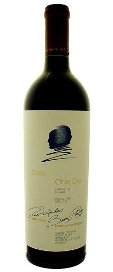 Opus One wine - Jon & I might get a bottle as our wedding gift to each other. At least it'll be a bit cheaper in Vegas than in Canada!