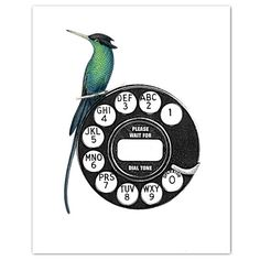 Call me  ART Print 8 x 10 by RococcoLA on Etsy, $19.00