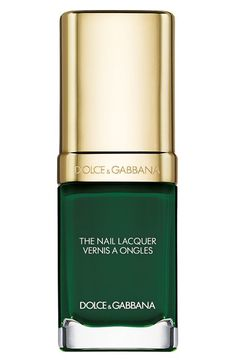 Dolce&Gabbana Beauty 'The Nail Lacquer' Liquid Nail Lacquer in Wild Green