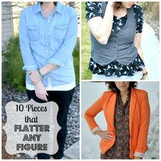 10 Pieces that Flatter Any Figure - Flats to Flip Flips