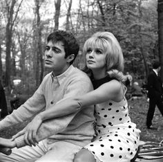 Guy Bedos and Sophie Daumier -France, 1963