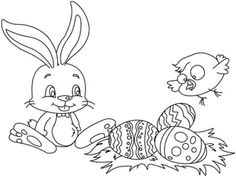 273c f9b22cb62b6efb7fa25 easter bunny pictures free colouring pages