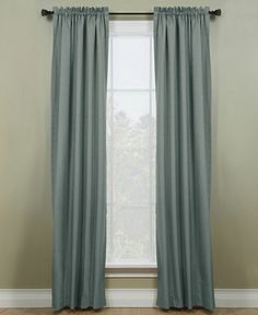 """Miller Curtains Window Treatments, Winston 40"""" x 84"""" Energy Saving Panel - Curtains & Drapes - for the home - Macy's"""