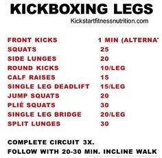 Kickboxing #workout