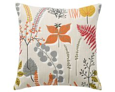 Floral Cushion Floral Cushion Floral Pillow by OOMFinteriors