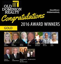 Award winners in our GOLD category!