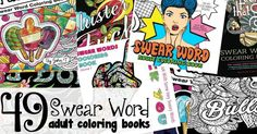 49 Swear Word Coloring Books for Adults {Because Why Not? Abc Activities, Printable Activities For Kids, Swear Word Coloring Book, Coloring Books, Free Printable Coloring Pages, Free Coloring Pages, Adult Coloring, Nerdy, Fun