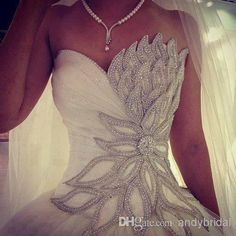 2014 Modern Sweetheart Corset Princess Bridal Ball Gown A-Line Wedding Dresses | Buy Wholesale On Line Direct from China
