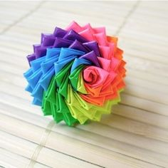 I know it's not origami, but it looks like it!