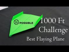 In This Video I will Show you how to make a paper plane How to make a Paper Airplane - BEST Paper Planes in the World -That Fly 10000 Feet (Paper crafts) We . Best Paper Plane, Make A Paper Airplane, Airplane Crafts, Paper Art, Paper Crafts, Diy Crafts, Origami Plane, Mollie Makes, Games For Kids